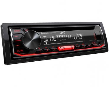 JVC KD-T702BT Bluetooth CD/MP3-Autoradio mit USB & AUX-IN Android Steuerung
