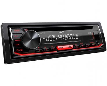 JVC KD-T402 CD/MP3-Autoradio mit USB & AUX-IN Android Steuerung