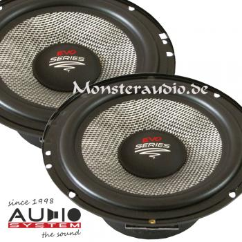 Audio System AS-165 EVO 16,5cm Kicker Kickbass-Lautsprecher 165mm 135 Watt AS165