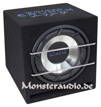 Crunch CRB-250 25cm Subwoofer in Bassreflexkiste 500 Watt CRB250
