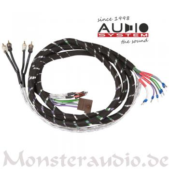 Audio System HLAC4-5M 4-Kanal High-Low-Adapter-Kabel ISO plug & play HLAC 4 5M