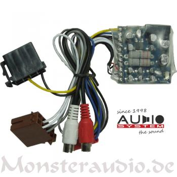 Audio System HLC-2 PLUS High-Low-Level-Adapter-Converter Autoradio Adapter HLC2 PLUS