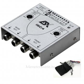 ESX ISC-4 4-Kanal High-Low-Level Adapter Auto Remote ISC4