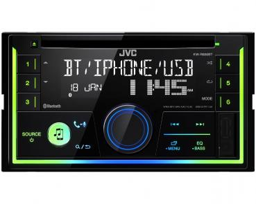 JVC KW-R930BT Bluetooth CD/MP3-Autoradio mit USB & AUX-IN Android Steuerung