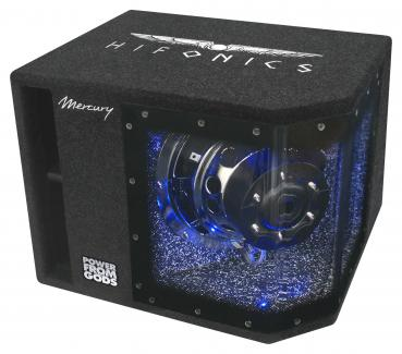 Hifonics Mercury MR-10BP 25cm Subwoofer in Bandpasskiste 800 Watt MR10BP