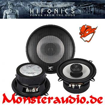 Hifonics Atlas AS-52 13cm 2-Wege Koaxial Lautsprecher 130mm 160 Watt AS52