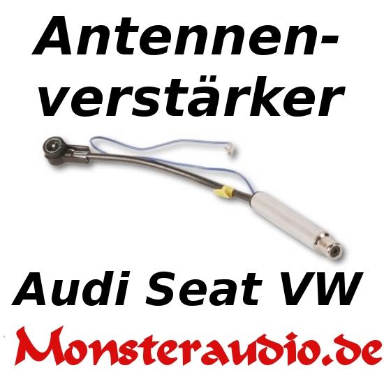 Auto Antennenverstärker 12 V Phantomeinspeisung VW AUDI SEAT 12V Autoradio NEU