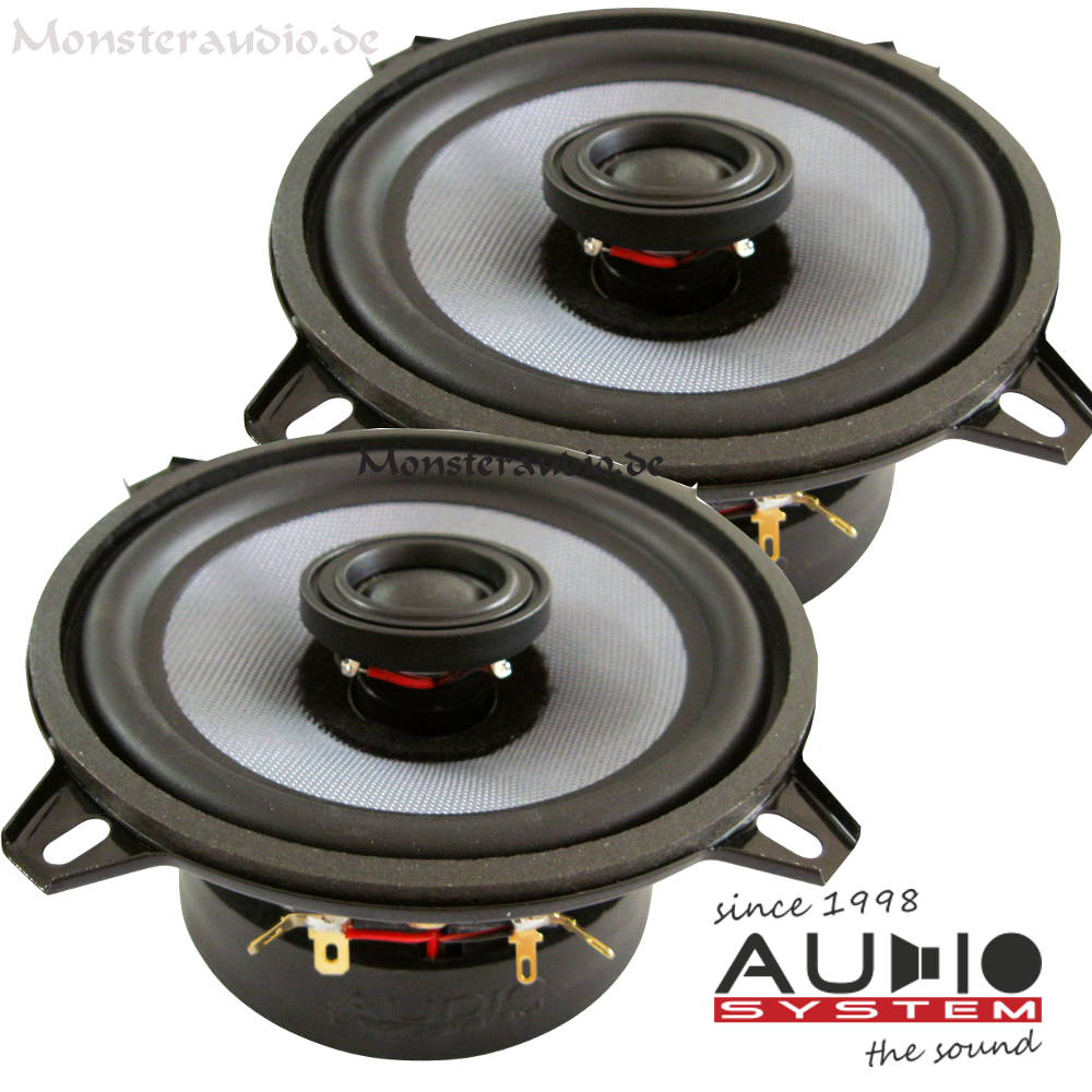 monsteraudio audio system co 130 evo 13cm 2 wege koaxial. Black Bedroom Furniture Sets. Home Design Ideas