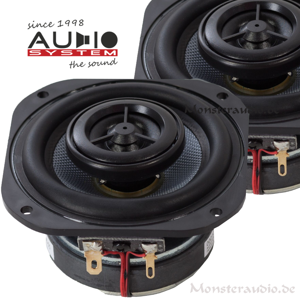 monsteraudio audio system co 80 evo 8cm 2 wege koaxial. Black Bedroom Furniture Sets. Home Design Ideas