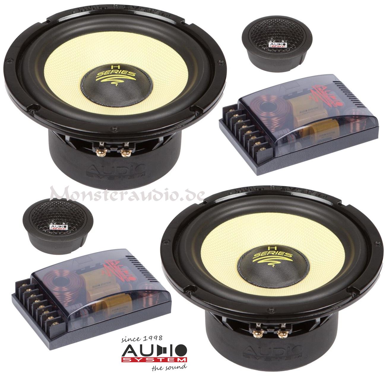 monsteraudio audio system h 165 16 5cm 2 wege. Black Bedroom Furniture Sets. Home Design Ideas